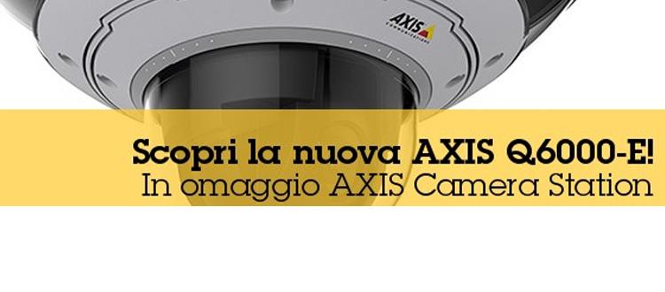 Telecamera IP AXIS Q6000-E