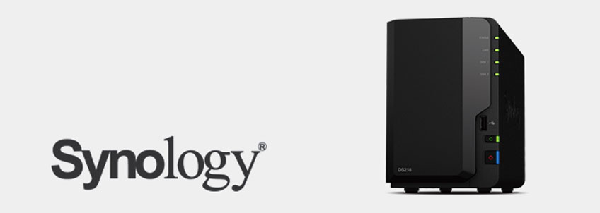 Il server NAS DS218 di Synology